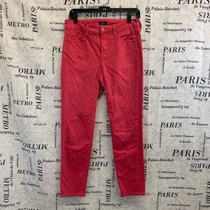 NYDJ Pink Ankle Jeans
